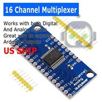 CD74HC4067 16 Channel Analog Digital Multiplexer MUX Breakout Board Module US