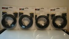(Set of 4) Gigaware 6' DVI-D Dual Link Cable