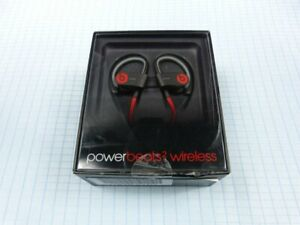 Beats by Dr. Dre PowerBeats 2 Wireless Kopfhörer Schwarz/Rot! Neu & OVP! RAR!