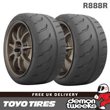 2 x 235/40/17 90W Toyo R888R Road Legal Race|Racing|Track Day Tyres - 2354017