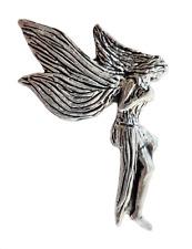 Fairy Étain Broche Badge - Main Fabriqué En Cornwall