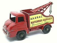 Matchbox Lesney No.13c Ford Thames Trader Wreck Truck
