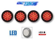 84 85 86 87 88 89 90 Chevy Corvette Clear LED Tail Brake Light Lamp Lens Set