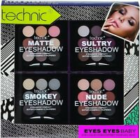 Technic Eye-shadow Collection Eyes Makeup Kit Xmas Gift set