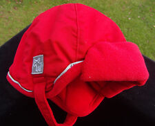 New Faded Glory Red Trapper Hat with Earflaps Toddler Free ship