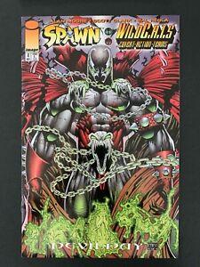 SPAWN WILDCATS  #4  IMAGE COMICS 1996 VF+