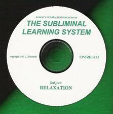 SOOTHING RELAXATION Relax w/ SUBLIMINAL LEARNING  NEW!