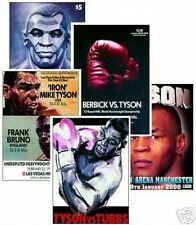 Mike Tyson new POSTCARD Set - 5 Cards Programme covers