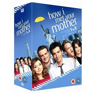 HOW I MET YOUR MOTHER COMPLETE SEASON 1-8 COLLECTION DVD BOX SET 24 DISC NEW