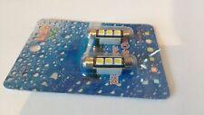 2 X 37mm 3 X 5050 SMD LED Libre De Errores Blanco Festoon Bombilla Luz Interior Lámpara De Auto
