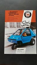 All Cars Charlie Camel 1975 depliant originale italiano genuine brochure