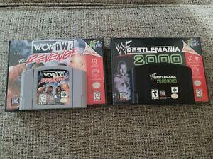 N64 lot of 2 wrestling games