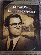 To Kill a Mockingbird DVD 2 Disc Set Special Legacy Edition Gregory Peck Academy