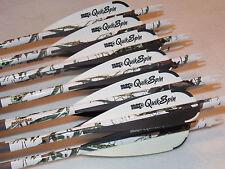 1 dozen Gold Tip Expedition Hunter 5575/400 custom carbon arrows w/Quikspins!!