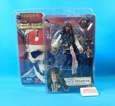 Capt. Jack Sparrow Figure Pirates of the Caribbean Series 3 NECA Reel Toys New