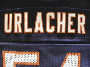 Brian Urlacher 54 Football Jersey Youth L 14 16 Blue Chicago Bears Hall of Fame
