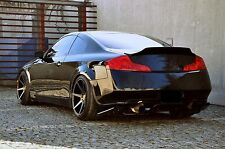 INFINITI G35 COUPE DUCKTAIL LOOK REAR BOOT SPOILER VER. 2