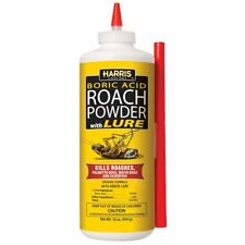 Boric Acid Roach and Silverfish Killer Powder & Extension Tube Long Lasting New