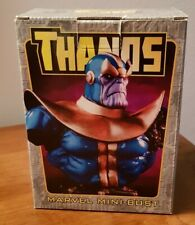 MARVEL mini-bust Thanos PERFECT BOWEN never displayed silver surfer gauntlet lee