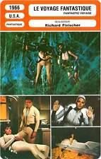 FICHE CINEMA : LE VOYAGE FANTASTIQUE  Boyd,Welch,Fleischer 1966 Fantastic Voyage