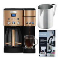 Cuisinart SS-15CS 12-Cup Coffeemaker and Brewer with Descaling Powder Bundle