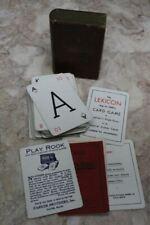 More details for vintage rook card game