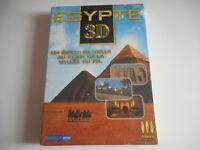 PC CD ROM NEUF - EGYPTE 3D / UN ECRAN DE VEILLE AU COEUR DE LA VALLEE DU NIL