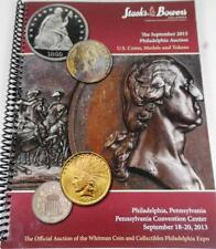 STACKS BOWERS 2013 AUCTION CATALOG REFERENCE BOOK US USA COINS CENT MEDAL TOKEN