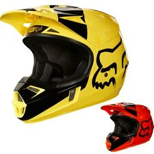 Fox Racing V1 Mastar MX Youth DOT Dirt Bike Off Road Motocross Helmets