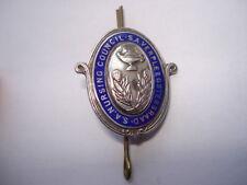 S.S.A.VERPLEEGSTERSRAAD.S.A.NURSING COUNCIL SILVER&ENAMEL NURSES COLLAR BADGE
