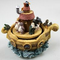 Noah's Ark - Moving Music Box/Figurine - Talk to the Animals - Kingspoint Design