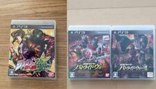 PS3 Kamen Rider Batoraido War 1 and 2,JoJo bizar 3 game set Japanese ver