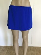 Sunsets Ultra Blue Swim Skirt  Bikini Bottom Size XL