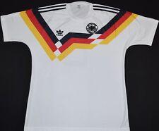 1988-1990 Alemania occidental Adidas Hogar Camiseta de fútbol (Talla M)