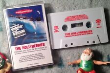 HOLLYBERRIES Surfin' Santa Claus OUT OF PRINT BURGER RECORDS CHRISTMAS CASSETTE