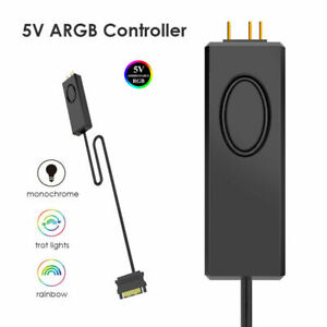 Addressable RGB ARGB DRGB SATA Powered Button Controller