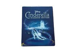 Cinderella Steelbook - Diamond Edition (Blu-ray + DVD) Disney, FREE SHIPPING