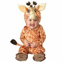 Baby Giraffe Zoo Animal Halloween Safari Costume Newborn Infant 0-6-12-18-24m