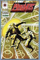 Magnus Robot Fighter #33 (Feb 1994, Valiant) [Timewalker] Ostrander, Calafiore