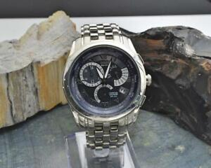 Citizen Chandler Eco-Drive E870 Stainless Steel 39mm Wristwatch