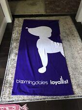 Bloomingdales Loyalist Bath Sheet Beach Towel - Purple