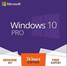 WINDOWS 10 PRO PROFESSIONAL GENUINE LICENSE KEY 🔑 INSTANT DELIVERY 🔑.""