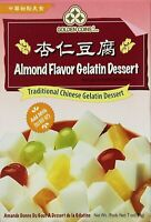 Golden Coins Almond Flavor Gelatin Traditional Chinese Dessert 7 oz Made in USA