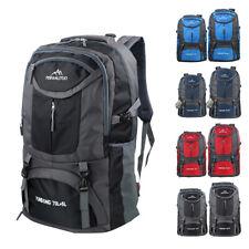 65L/75L Outdoor Backpack Waterproof  Shoulder Hiking Bag Camping Travel Rucksack