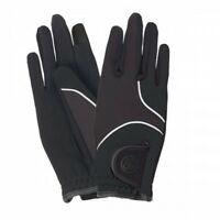 Ovation Vortex 3-Season Riding Gloves with Water Resistant Shell and Grippy Palm
