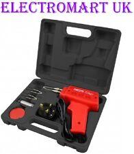 Soldadura Hierro Pistola Eléctrica 100W Kit de 5 piezas Alambre de Soldadura Flux estuche