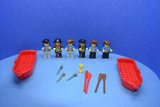 LEGO Figuren Piraten pi002 pi055 pi080 pi009 pi005 pi008 2551 boot rot #Fi147