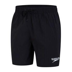 "Men's Speedo 16"" Watershorts Swimming Shorts Trunks Black XL (Tag Marked)"
