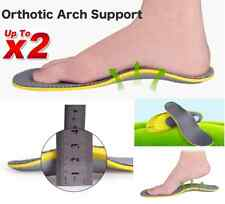 1 Pair Orthotic Arch Support Shoe Insoles Pads Pain Relief Men Women Fast Post