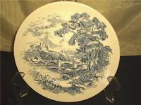 Wedgewood Countryside Blue Dinner Plate English Scenes
